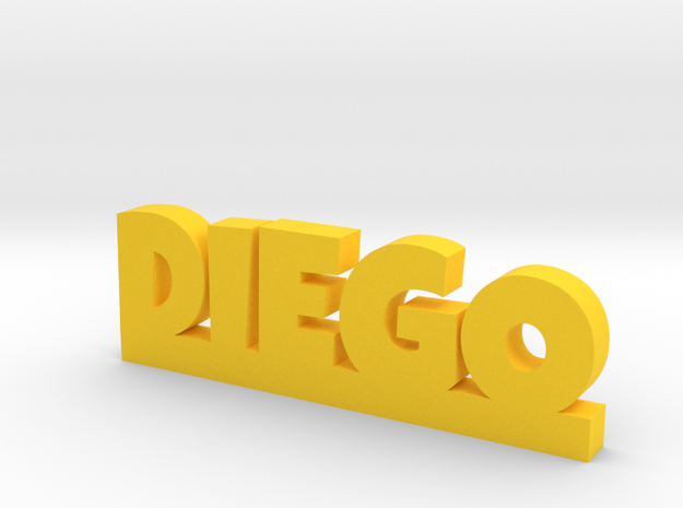 DIEGO Lucky in Yellow Processed Versatile Plastic