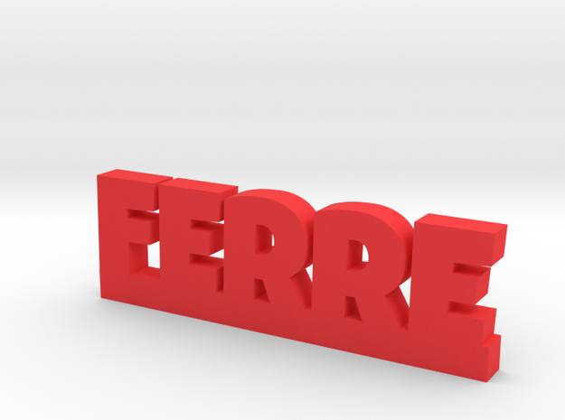 FERRE Lucky in Red Processed Versatile Plastic