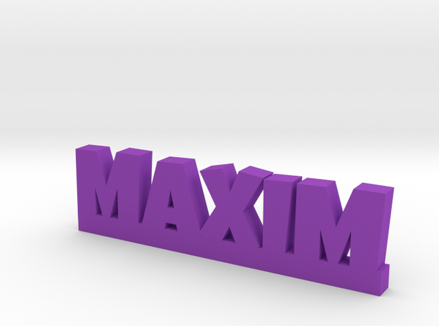 MAXIM Lucky in Purple Processed Versatile Plastic