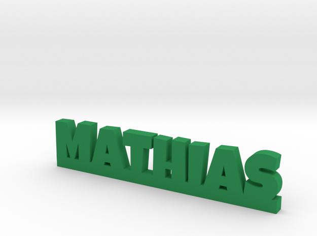 MATHIAS Lucky in Green Processed Versatile Plastic