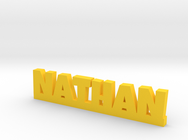 NATHAN Lucky in Yellow Processed Versatile Plastic