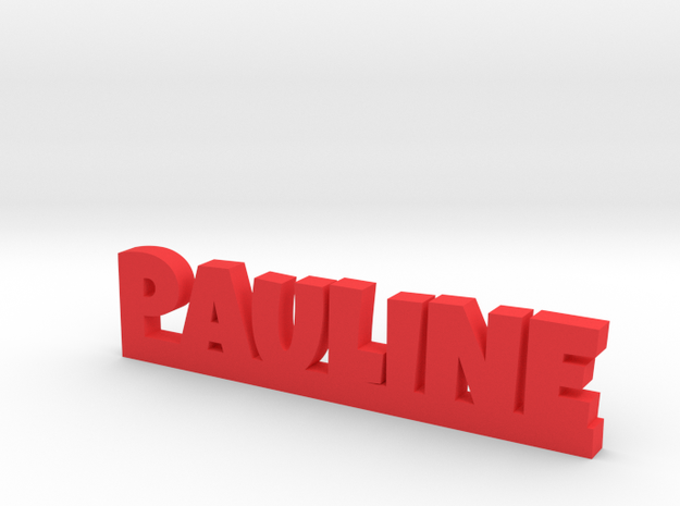 PAULINE Lucky in Red Processed Versatile Plastic
