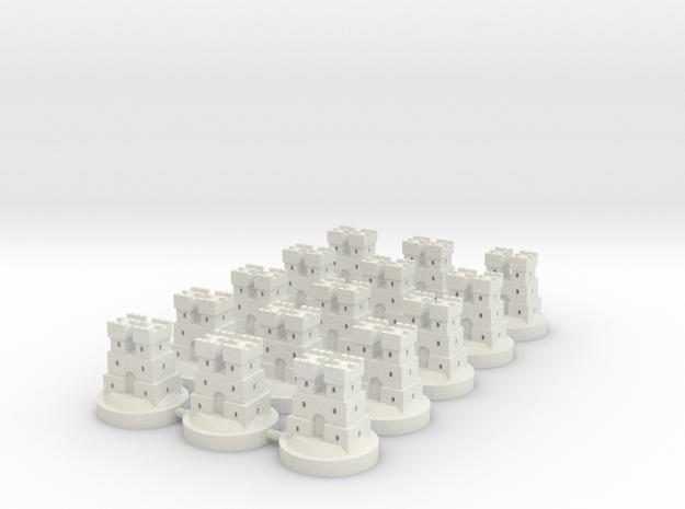 Game of Thrones Risk Pieces - Frey in White Natural Versatile Plastic