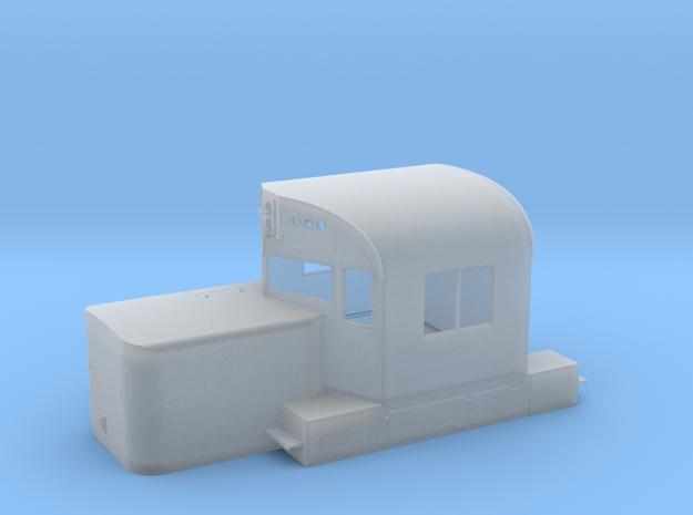 Alco C420 Cab & Short Hood w/ Nose Door in Smooth Fine Detail Plastic: 1:64 - S