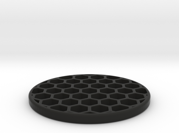 Honeycomb KillFlash 41.5mm 3mmHeight 1.0335mmWall in Black Natural Versatile Plastic