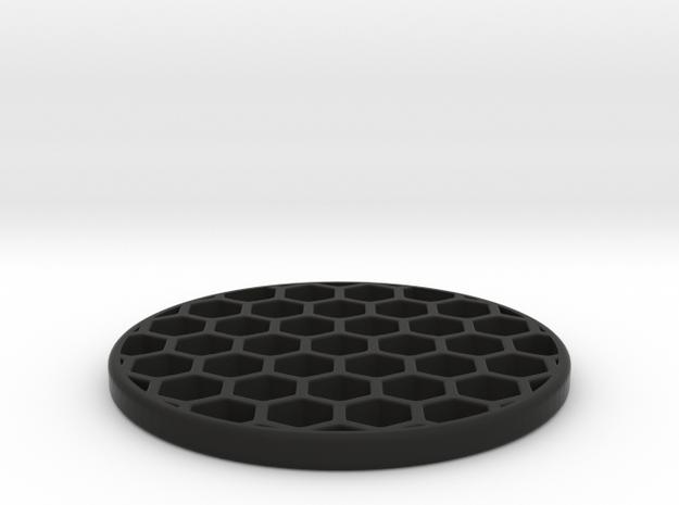 Honeycomb KillFlash 41.5mm 3mmHeight 1.0335mmWall in Black Natural Versatile Plastic