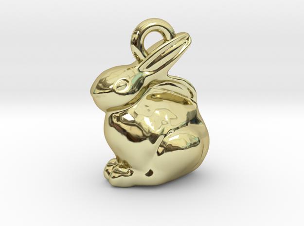 mini chocolate Easter bunny charm