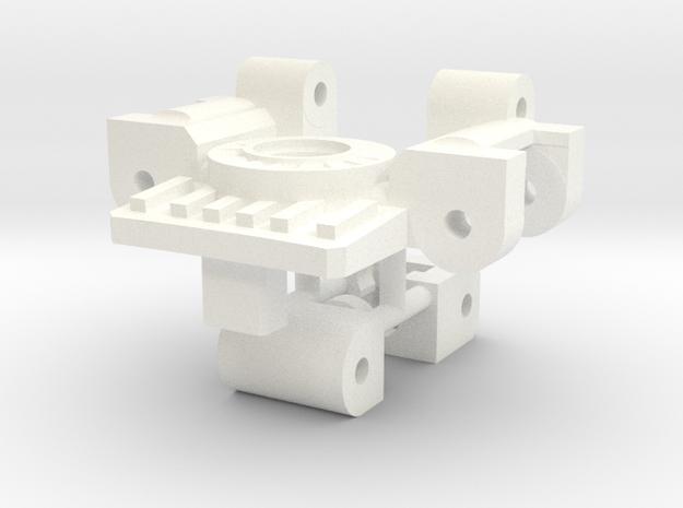 Titans Return Bumblebee Arm / Neck Swivel Hinge in White Processed Versatile Plastic