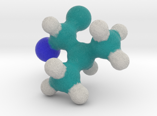 Amino Acid: Valine in Full Color Sandstone