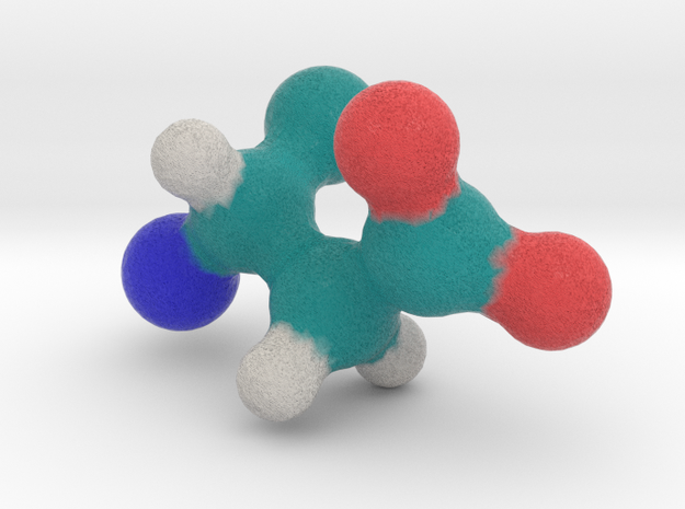 Amino Acid: Aspartate in Full Color Sandstone