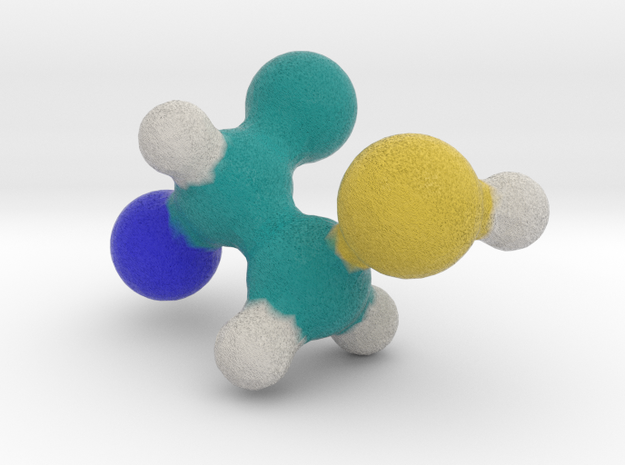 Amino Acid: Cysteine in Full Color Sandstone