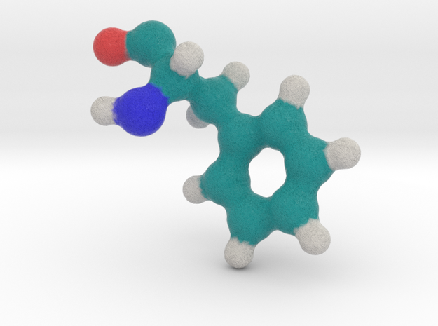Amino Acid: Phenylalanine in Full Color Sandstone