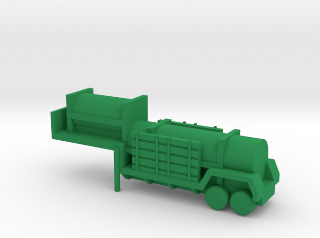 1/200 Scale Sergeant Missile Trailer in Green Processed Versatile Plastic