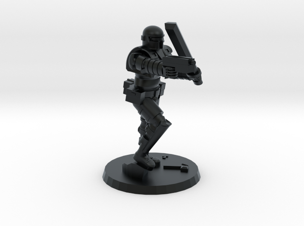 36mm Heavy Armor CC Weapons in Black Hi-Def Acrylate