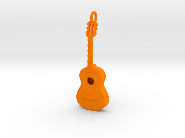 Guitar 1702102145 in Orange Strong & Flexible Polished