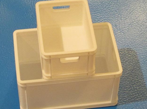 1/8 scale plastic box ( 60 l ) 3d printed