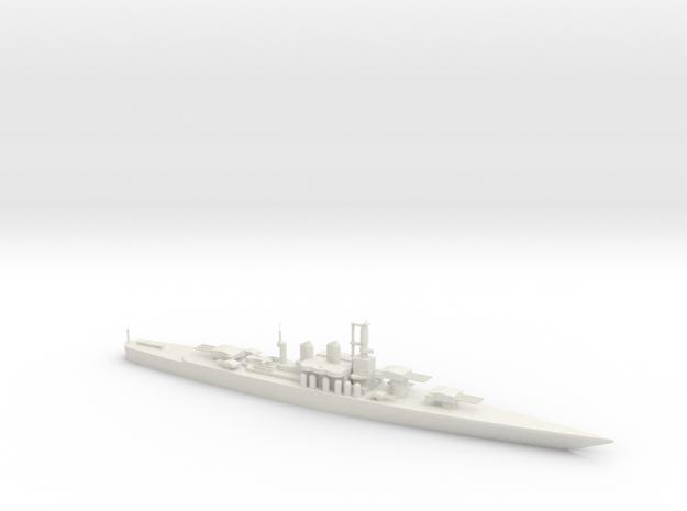 SS Andrea Doria Battleship in White Natural Versatile Plastic