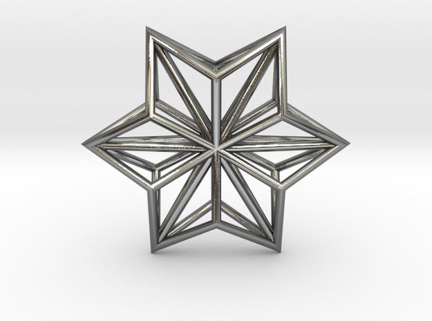Origami STAR Structure, Pendant.