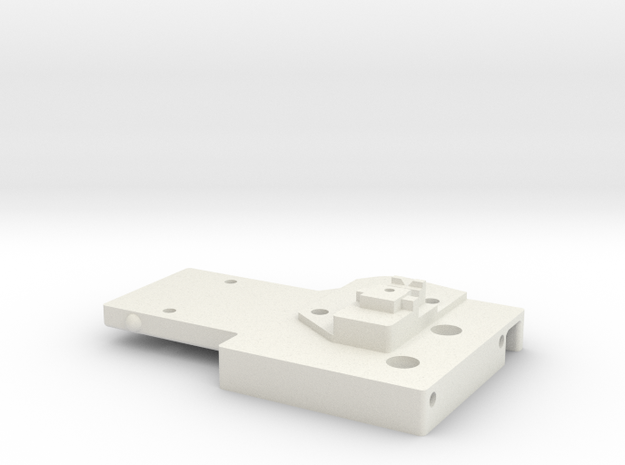 Cetus3D Mount Base for a Nimble  in White Natural Versatile Plastic
