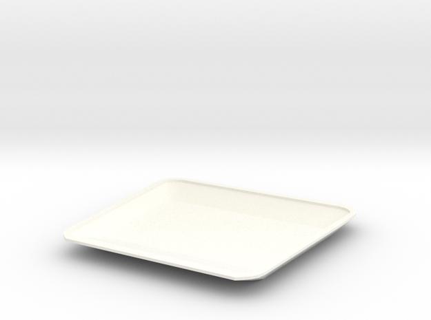 High bonnet new model D90 1:18 Gelande 2/2 in White Processed Versatile Plastic