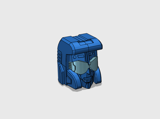 Pacifist Head Combiner Version