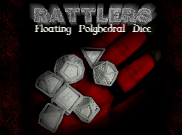 RATTLERS - Floating Polyhedral Dice Set