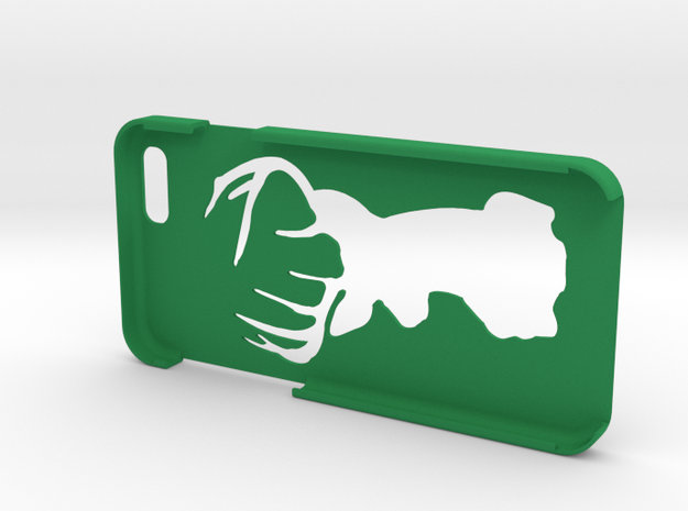 "Iphone 6 ""Deer"" in Green Processed Versatile Plastic"
