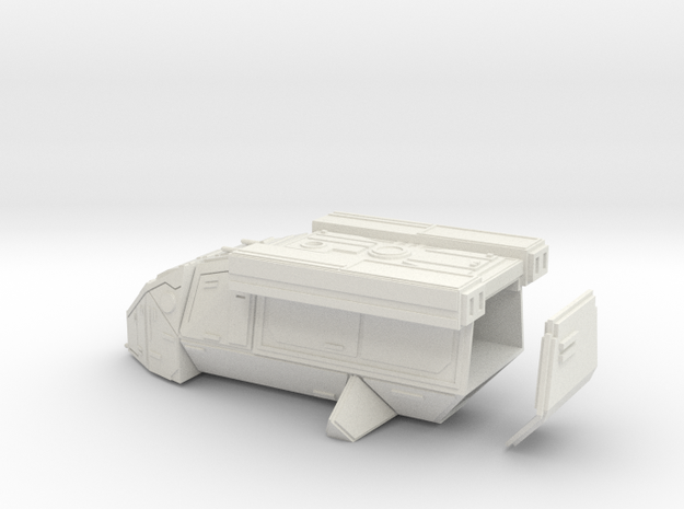 DX9 Stormtrooper Transport in White Strong & Flexible