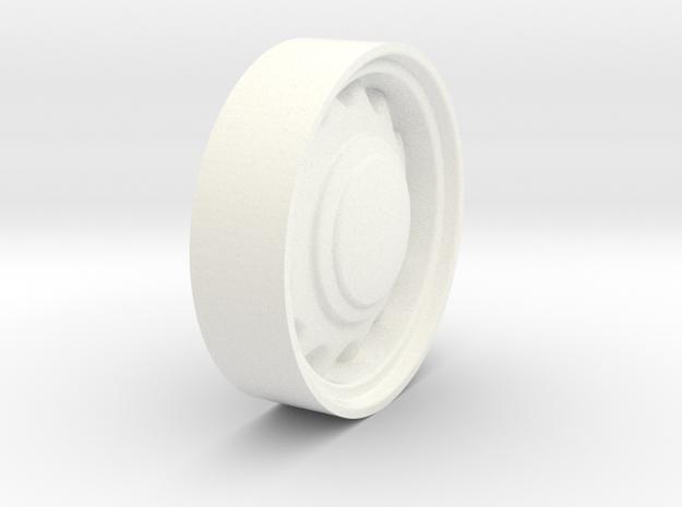 Art-19 in White Processed Versatile Plastic