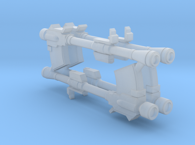 1:400 Later Federation Mobile Suit Bazooka in Frosted Extreme Detail