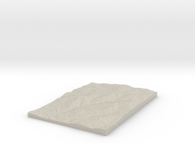 Model of Cassill Cemetery in Natural Sandstone