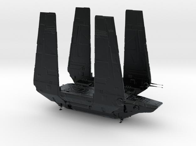 1/2256 Zeta-class Imperial Cargo Shuttle in Black Hi-Def Acrylate