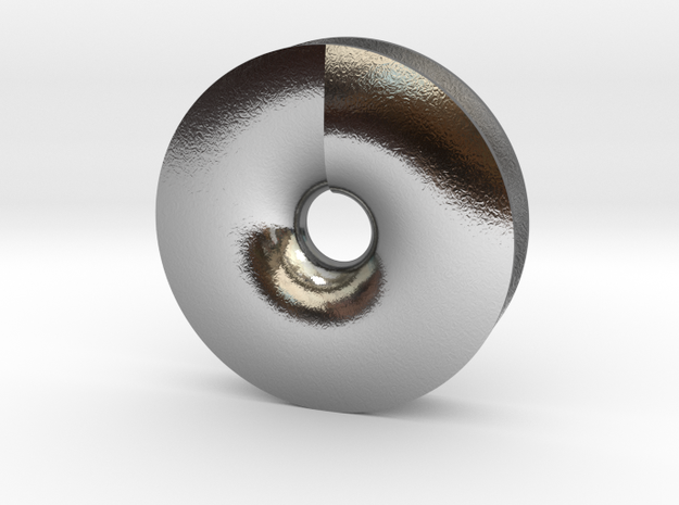 DISK in Polished Silver