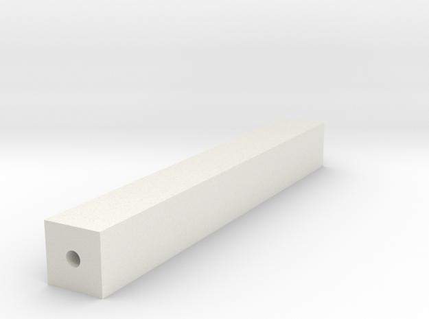 Drillguide in White Natural Versatile Plastic