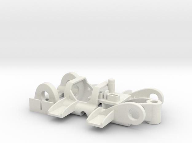 PDU030mhO in White Natural Versatile Plastic