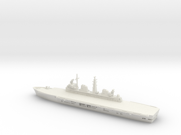 1/700 Scale HMS Invincible in White Natural Versatile Plastic