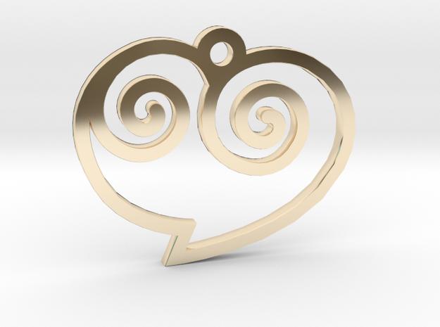 Heart / Corazón in 14K Gold
