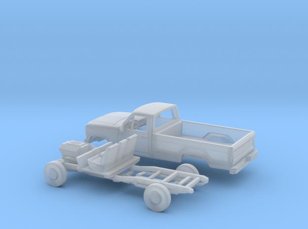 1/87 1979-86  Ford F Series Single Cab Kit