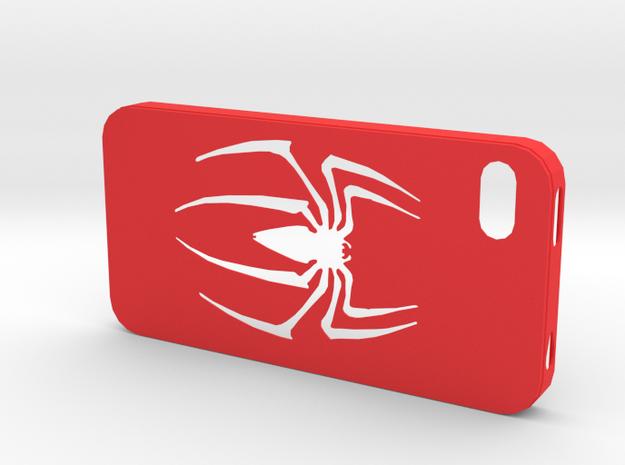 IPhone 4S Spider Case in Red Processed Versatile Plastic