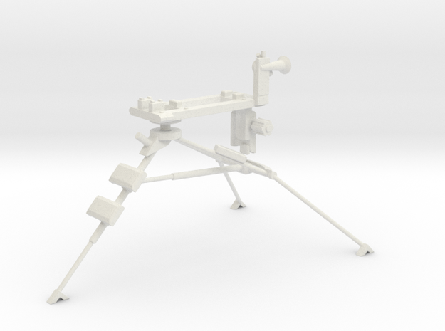 1:16 Lafette Tripod for MG34 or MG42 in White Natural Versatile Plastic