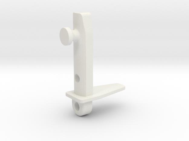 Ikea VIDGA 146965 in White Natural Versatile Plastic