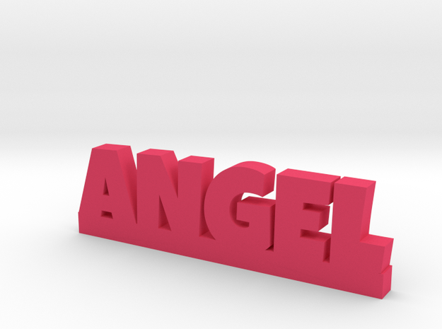ANGEL Lucky in Pink Processed Versatile Plastic