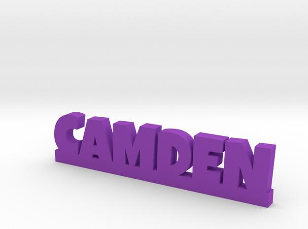 CAMDEN Lucky in Purple Processed Versatile Plastic