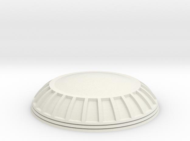 NX-2000 Observation Dome For Lunar Models Excelsio in White Natural Versatile Plastic