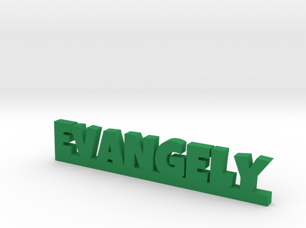 EVANGELY Lucky in Green Processed Versatile Plastic