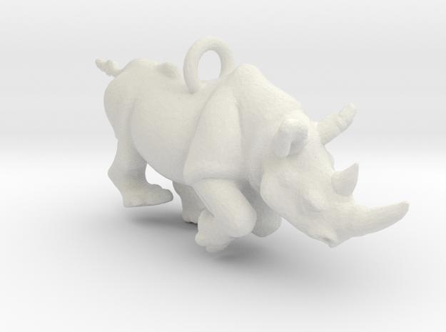 Rhino Pendant