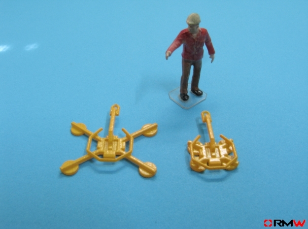HO/1:87 Glass handler for mini crawler crane in Smooth Fine Detail Plastic