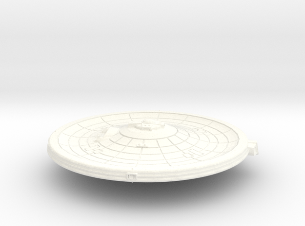 45mm Fed Primary W Imp and Nav in White Processed Versatile Plastic