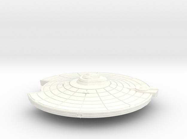 45mm Fed Prim W Imp Nav and Torps in White Processed Versatile Plastic