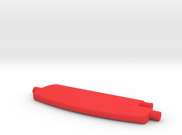 Flap in Red Strong & Flexible Polished